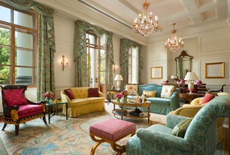 Within This Historic Landmark Hotel The Lobanov Presidential Suite Brings Le Grandeur Of Beautiful 19th Century Royal Palace Together With