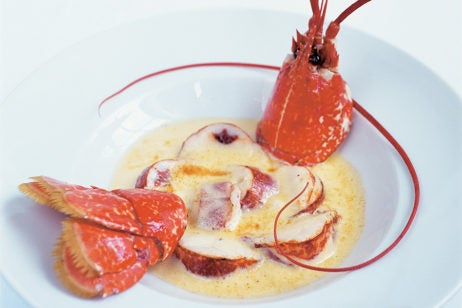 two and three Michelin starred restaurants in London, le gavroche food