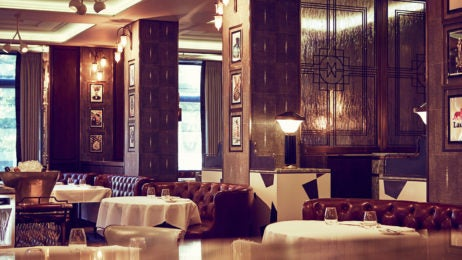 two and three Michelin starred restaurants in London, Marcus interior dining area