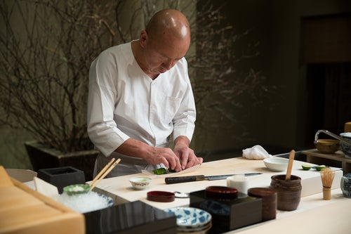 Three-Michelin-starred restaurants in the United States, Masa, New York, New York (NY), Chef Masa Takayama