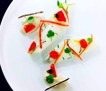 hree and two starred Michelin restaurants London, Greenhouse food