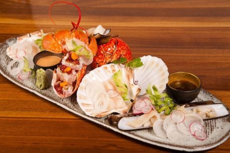 two and three Michelin starred restaurants in London, umu food
