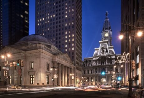 Ritz-Carlton Philadelphia exterior, where to stay in Philadelphia