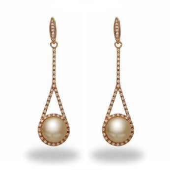 tara pearl earrings