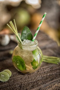 Mojito at Kubu Beach Club
