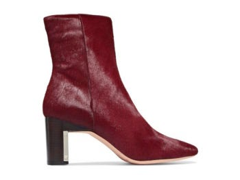 claf hair ankle boots
