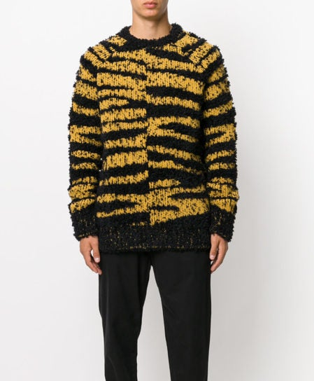 stella mccartney tiger mohair sweater jumper