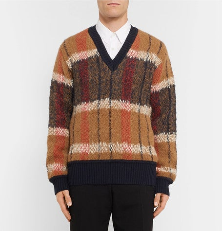 Dries van noten mohair sweater jumper
