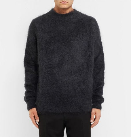 haider ackermann mohair sweater jumper