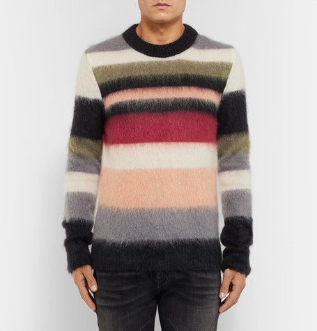 Saint laurent mohair sweater jumper