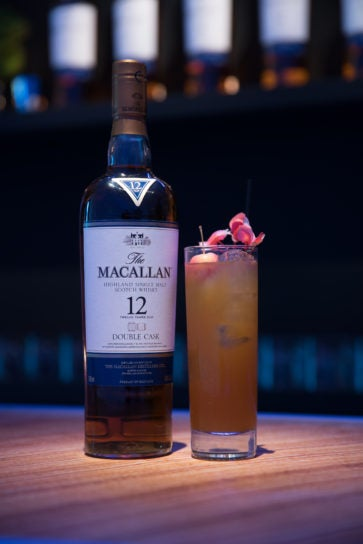 the macallan 12 years old double cask whisky cocktail