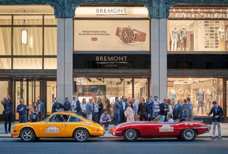 bremont the english tour jaguar