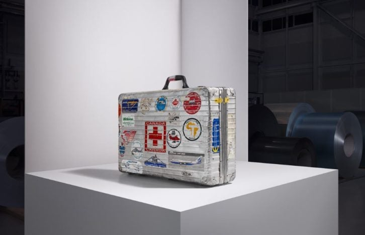 161f5b37e And now the brand is celebrating the 80th anniversary of its most iconic  design, the distinctive aluminium suitcase.