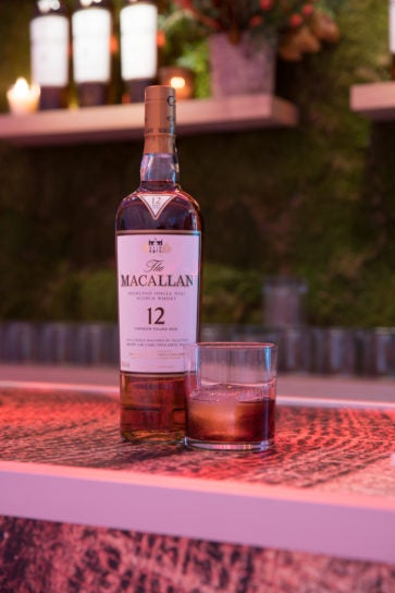 the macallan 12 years old sherry oak whisky cocktail
