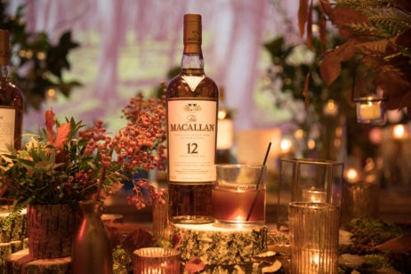 the macallan 12 years old sherry oak sherried cherry whisky cocktail