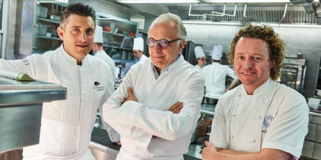 Jean-Philippe Blondet, Alain Ducasse and Tom Kitchin join forces for the 10th Anniversary of The Dorchester