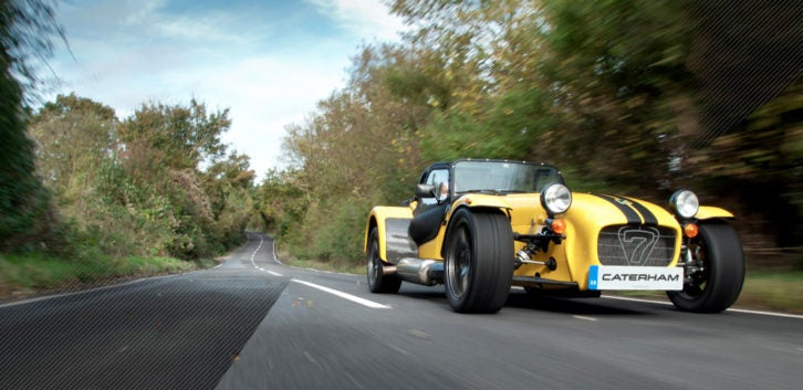 The Caterham Seven turns 60 this year