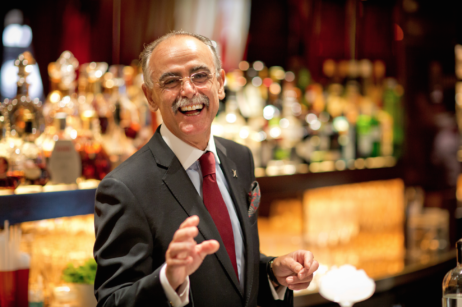 giuliano morandin bar manager the dorchester