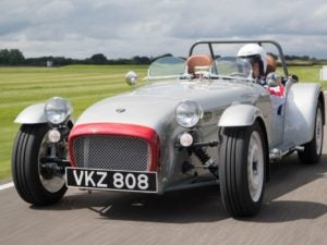 Caterham seven celebrating 60 anniversary