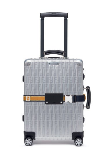 fendi rimowa luggage suitcase