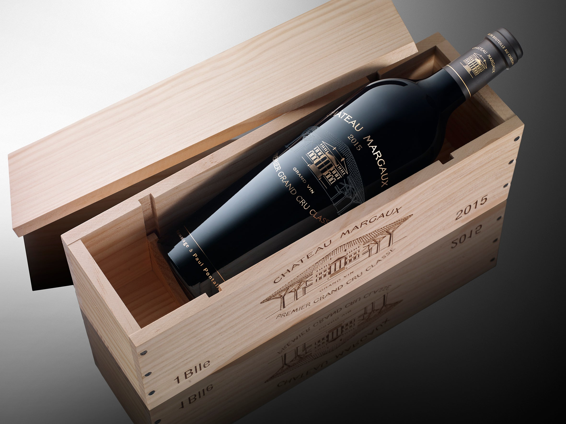 Chateau Margaux 2015 75cl btl in its case credits G. de Beauchene