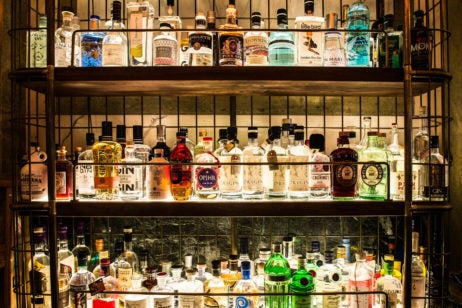 gin bar rosewood london