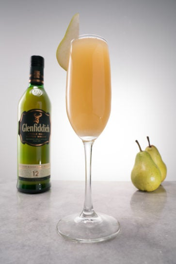 glenfiddich 12 year old whisky pearadise cocktail