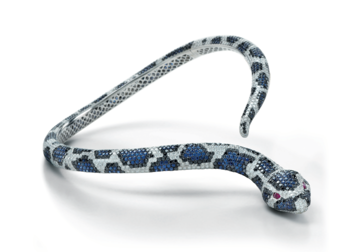 roberto coin limited-edition snake necklace