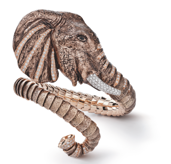roberto coin limited-edition elephant cuff