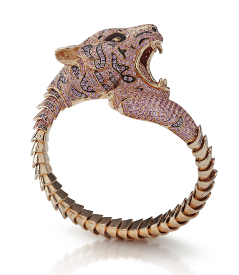 roberto coin limited-edition tiger cuff