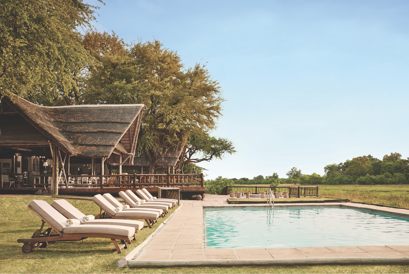 Khwai river lodge moremi game reserve botswana elite for Top 100 hotels
