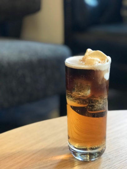 jameson caskmates stout edition float - cocktail of the week