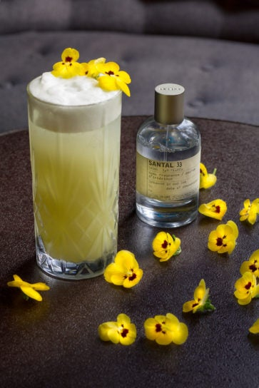 violet le labo pulitzer Amsterdam - cocktail of the week