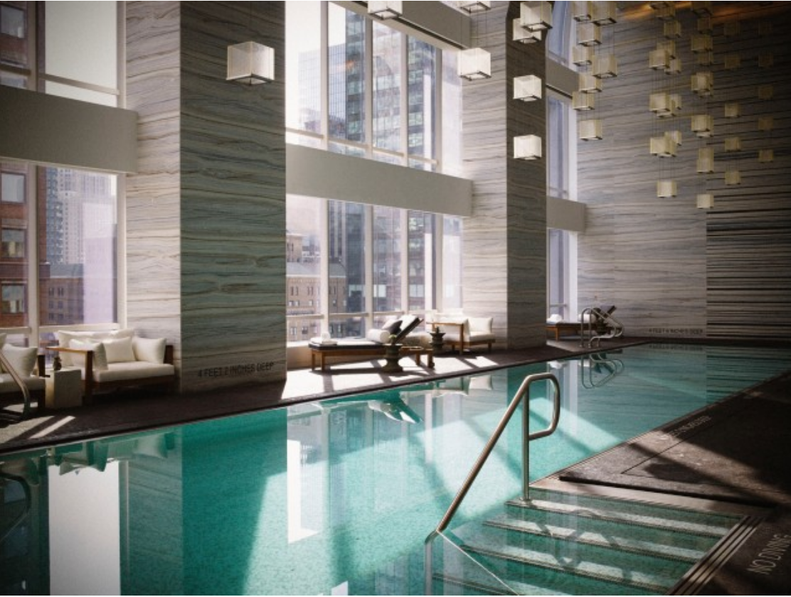 Park hyatt new york new york usa elite traveler for Top 100 hotels