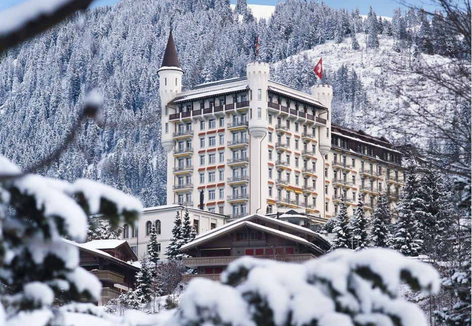 Gstaad palace gstaad switzerland elite traveler for Top 100 hotels