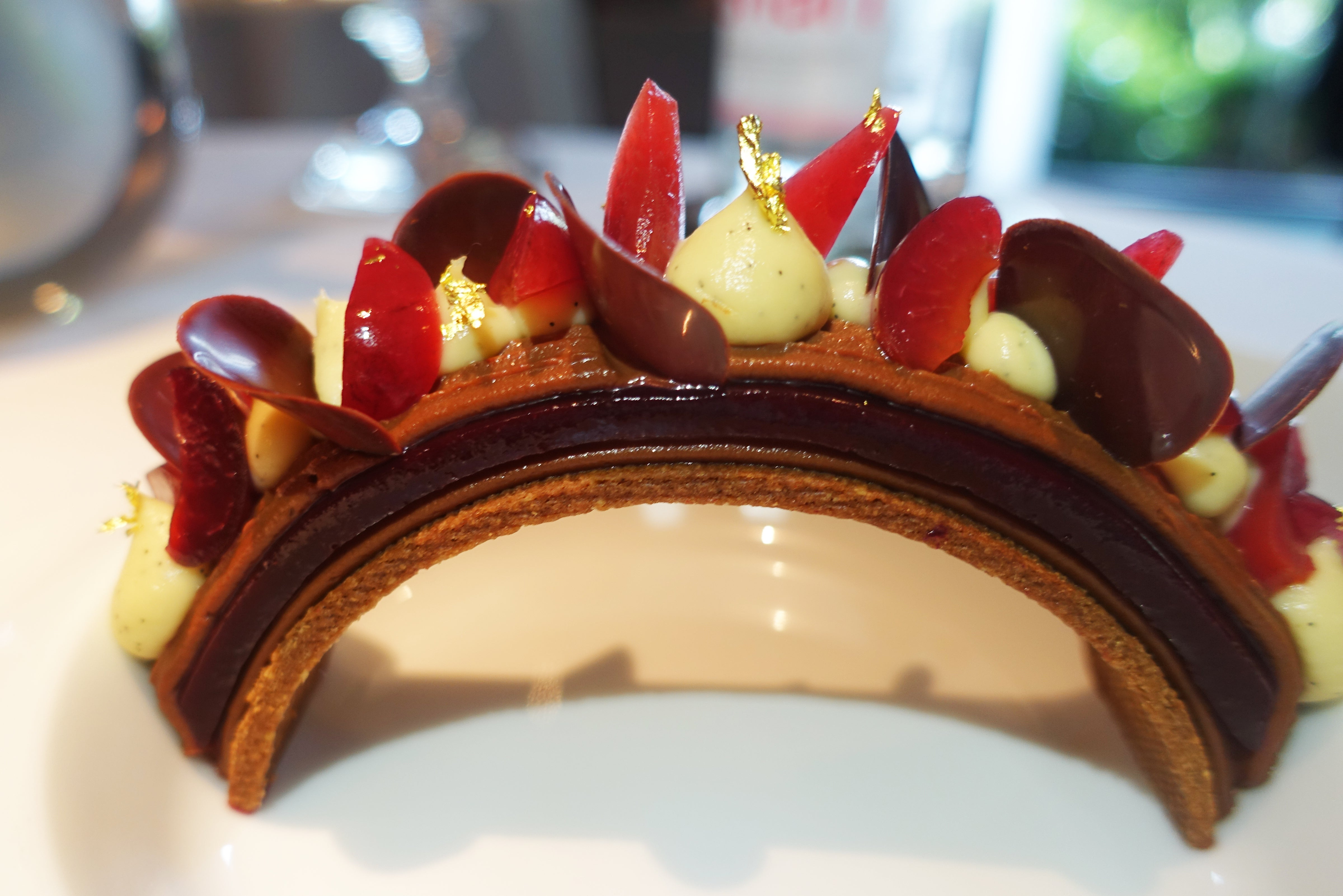 The 12 Best Fine Dining Dishes Of 2017 Elite Traveler Mille Shopia Top Creme Year When Michelin Introduced Their Multi Star System So This Is A Restaurant With Considerable Culinary History Anne Sophie Pic Regained Those