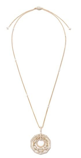 David Yurman 18K yellow gold High Jewelry Eternity Stax Necklace - Rare and Beautiful