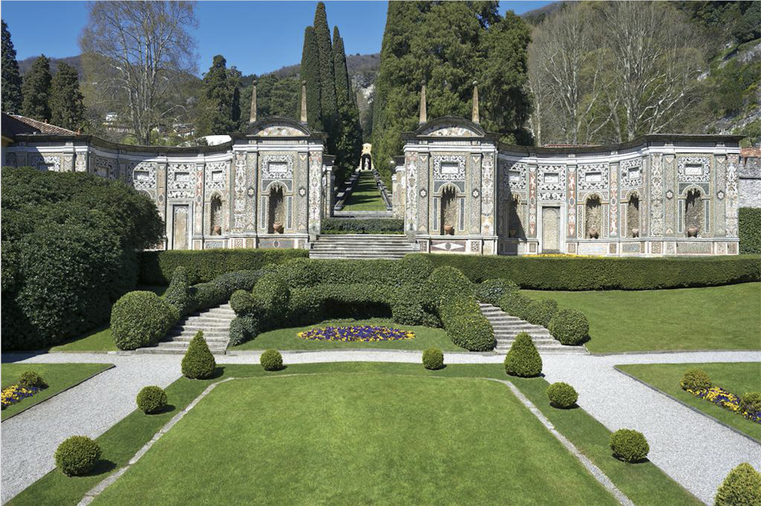 Villa d 39 este cernobbio lake como italy elite traveler for Top 100 hotels
