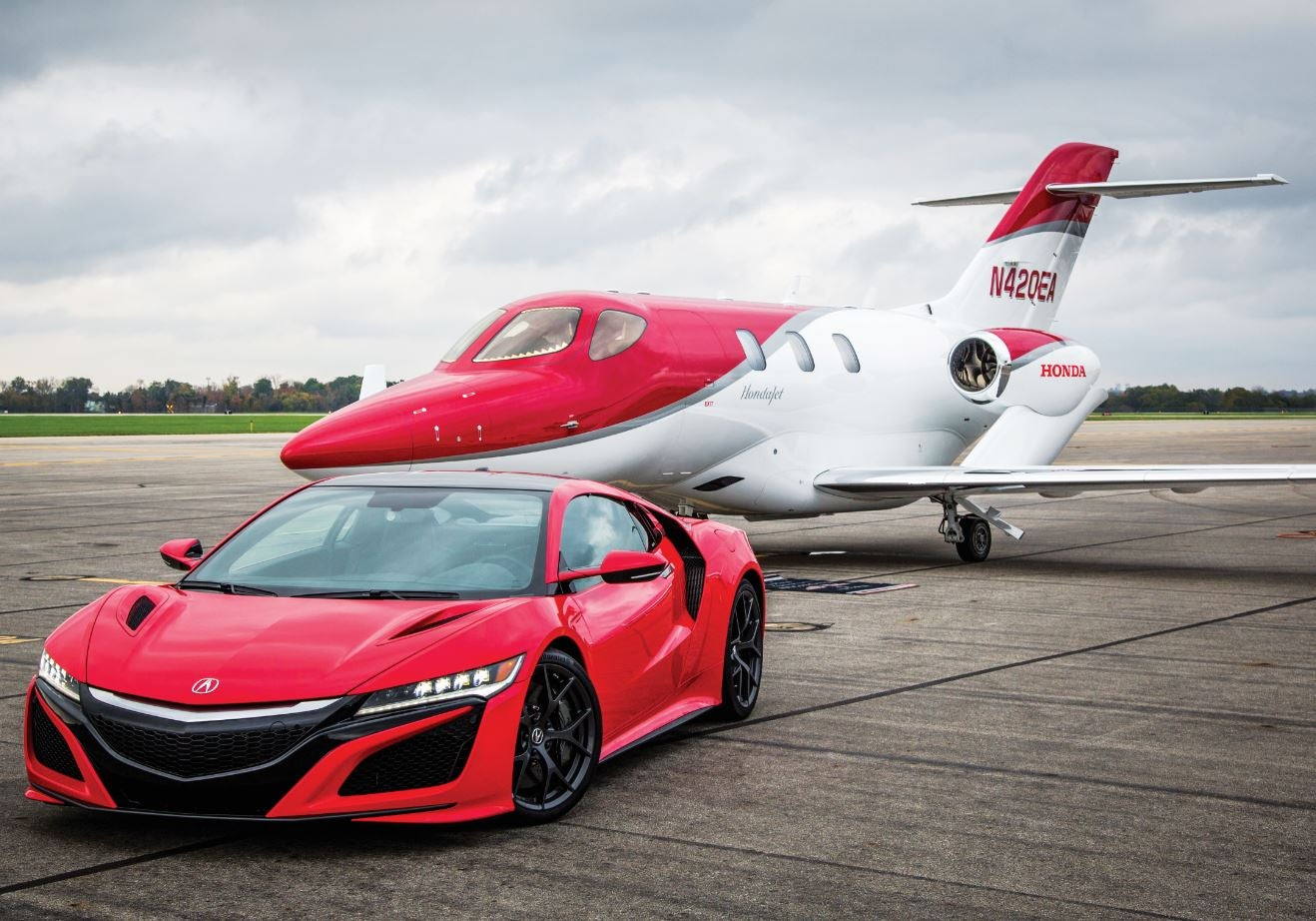 Jet And Car on Acura Nsx