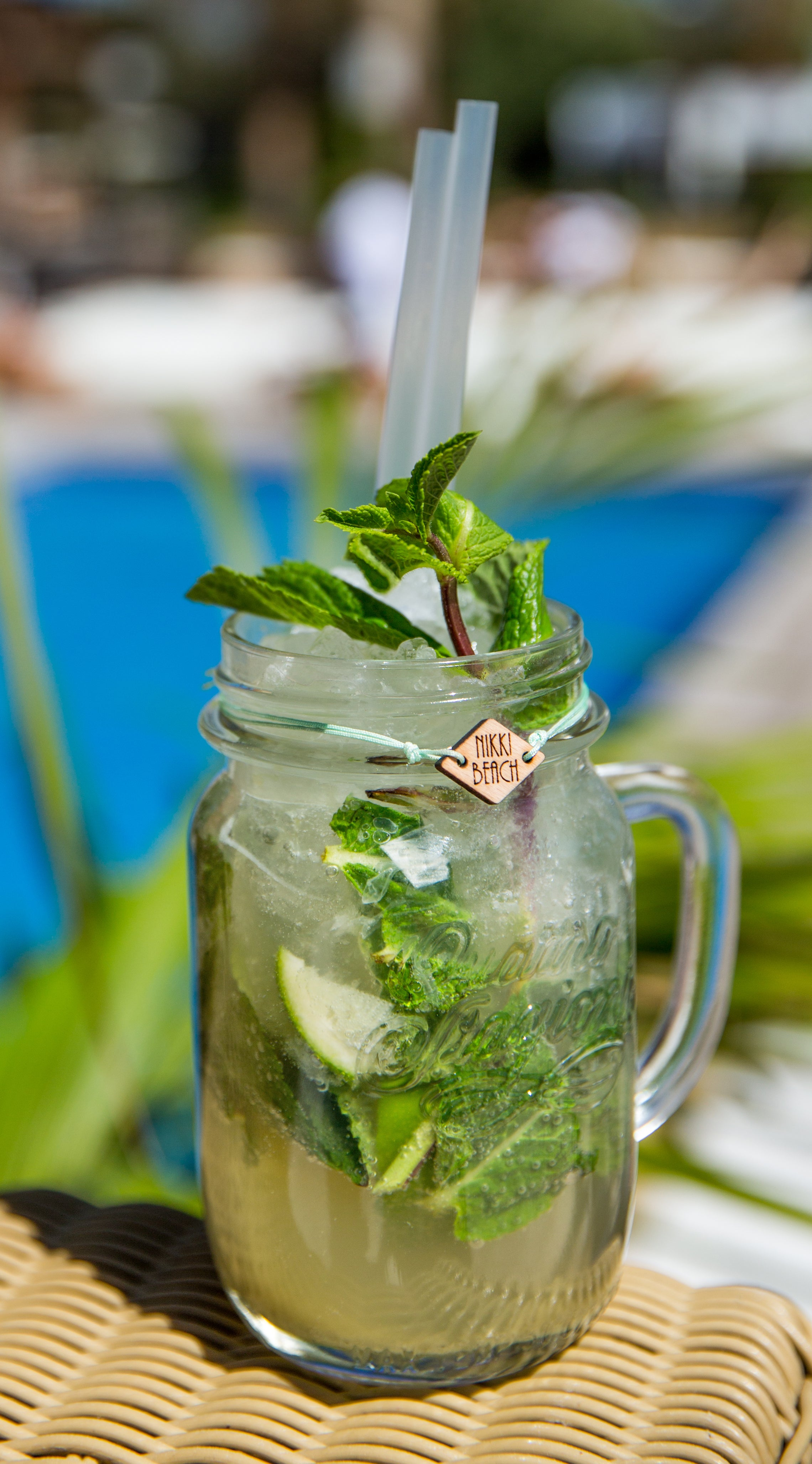 nikki beach mojito barbados - cocktail of the week
