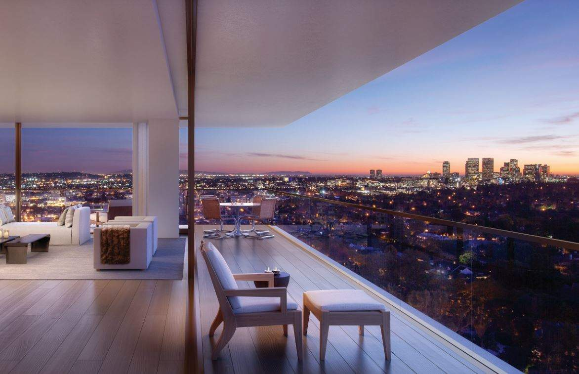 1201 The Residences At The West Hollywood Edition Los