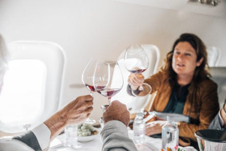 Wine on Airplanes