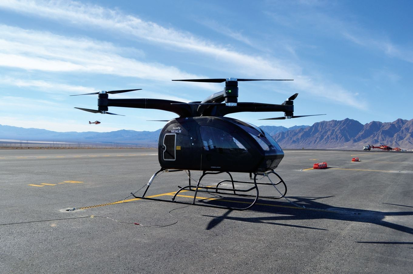 The New Personal Helicopter By Surefly Elite Traveler