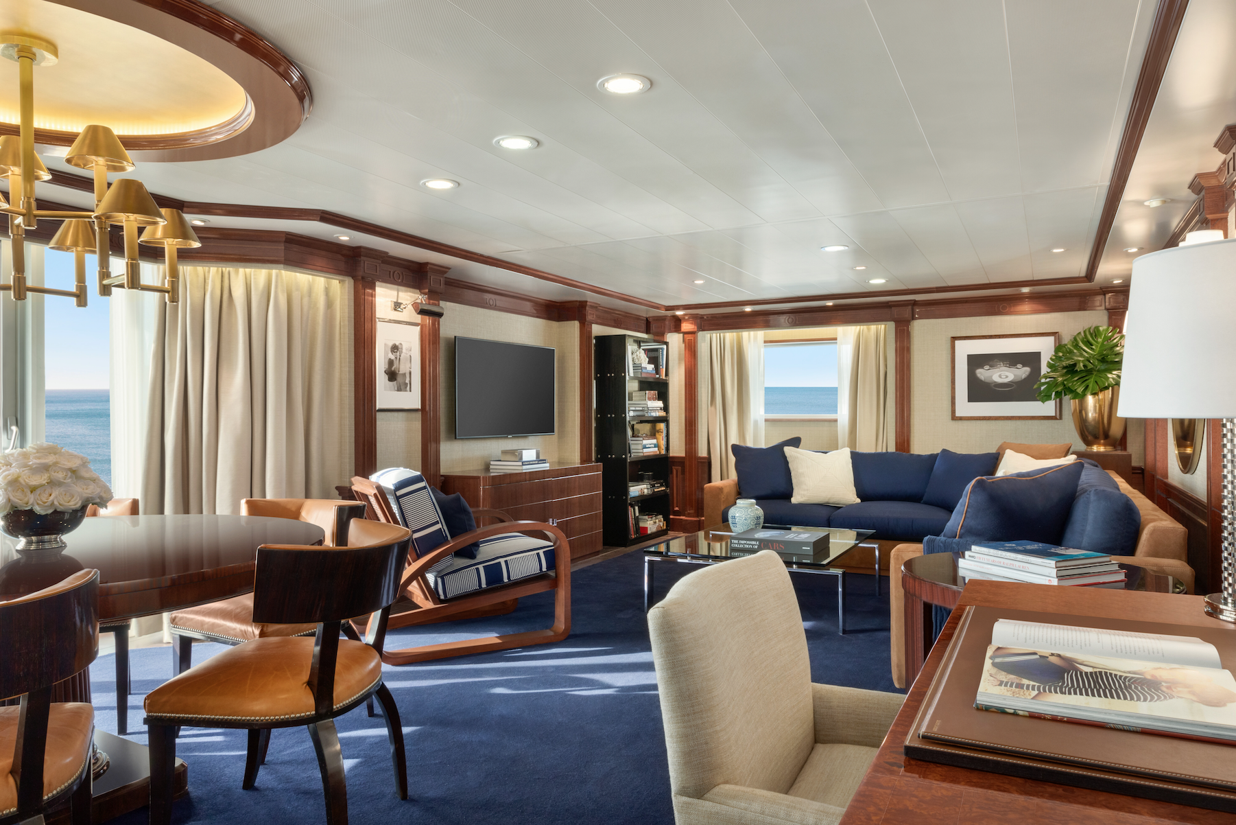 Oceania Cruises Completes Riviera Ship's Renovations