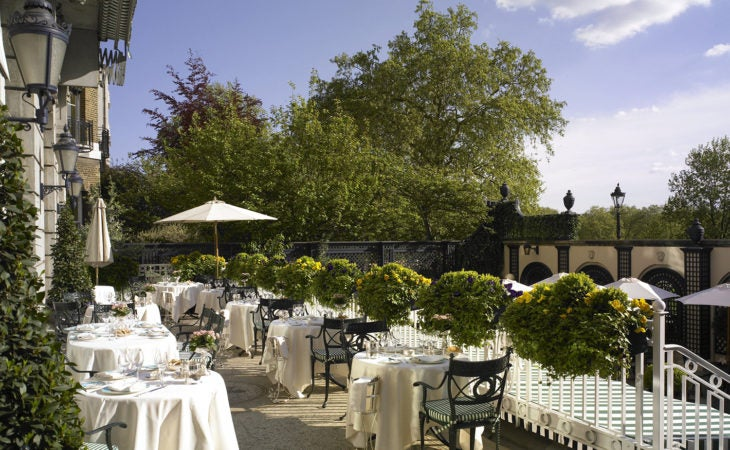 Best alfresco restaurants in London