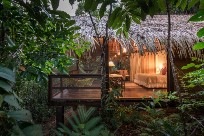 Anavilhanas jungle lodge rooms