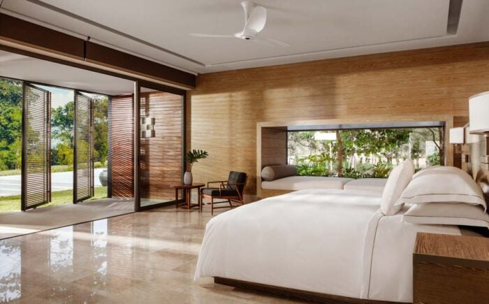 One&Only Desaru Coast Villa One master bedroom