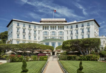 European road trip starting point Four Seasons Grand-Hotel du Cap-Ferrat