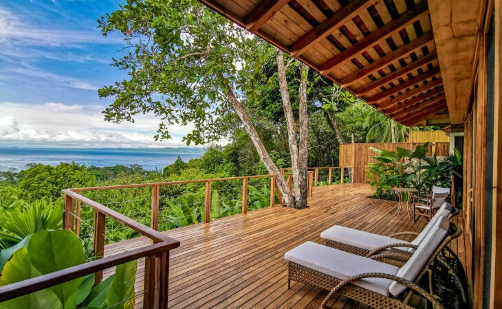 Lapa rios luxury wildlife vacation room decking