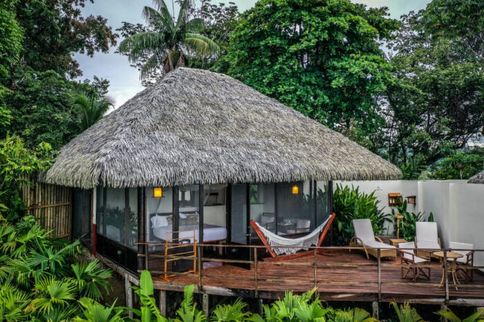 Lapa Rios reserve deluxe accommodation